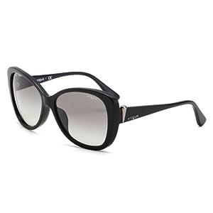 Vogue维高 时尚太阳镜女款亚洲版 黑色 ¥ 999