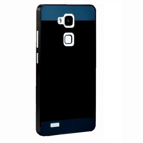 mate7保护套 金属边框后盖 手机套 手机保护套 mate7 黑色