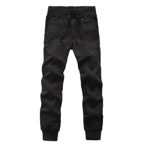 Tony Jeans 汤尼俊士 男式 针织修身休闲长裤 1212400200