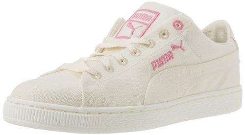 PUMA 男士 Biodegradable 时尚篮球鞋 White/Pink Carnation 9 D(M) US