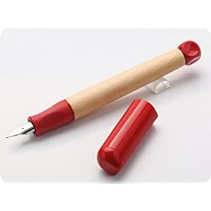 lamy 凌美 abc学生系列儿童专用a尖墨水笔 钢笔 红色 标配