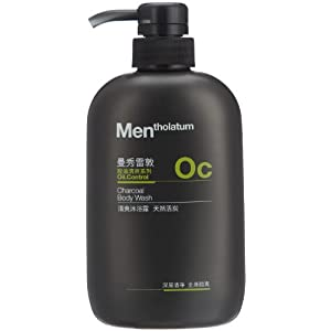 Mentholatum 曼秀雷敦 清爽沐浴露-天然活炭 500ml
