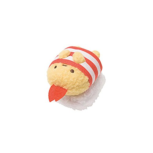 毛绒手掌沙包玩偶公仔 毛绒沙包玩具 可爱卡通超萌沙包玩具(寿司虾尾