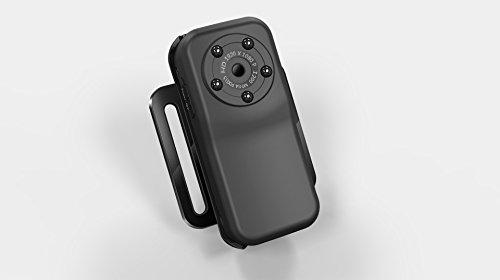 嘉德诺 高清夜视HD1080P 10M 防水运动摄像机 行车记录仪  户外运动机 潜水摄像机 防水摄像机 MINI型夜视运动摄像机 90°拍摄角度 录像+拍照+夜视 户外必备 (外贸版, 配8G内存)-图片