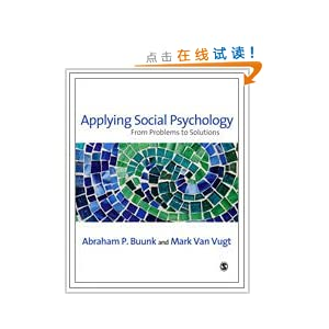 applying social psychology from problems to solutions