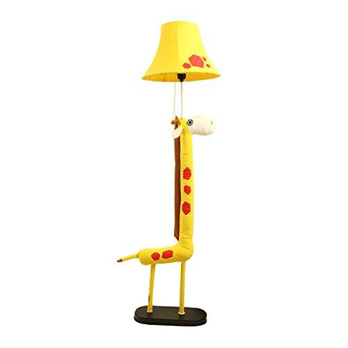欣兰雅舍 创意长颈鹿卡通卧室宜家落地灯 时尚简约立式台灯 儿童房图片