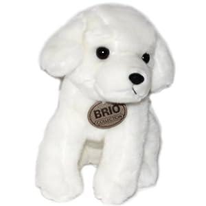 东方玩具 小狗 纯白色小狗毛绒玩具