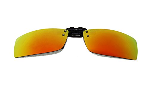 BestFeel 偏光折叠太阳镜夹片 红膜