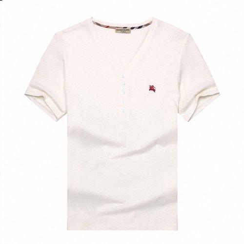 Seebbyhawk 圣比鹰 高端男装 短袖纯色 纯棉V领 男士T恤 196839361