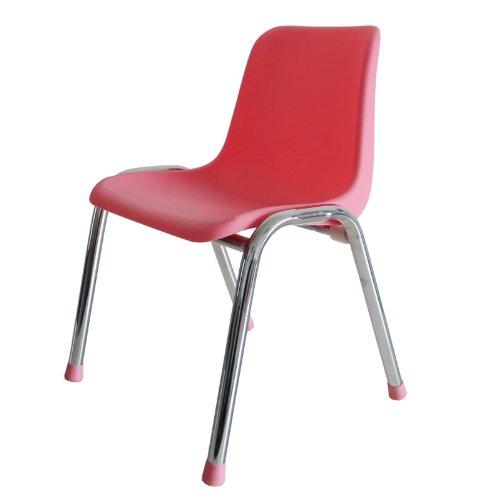 三唐 专利设计宜家儿童椅 塑料儿童凳 小学生椅 幼儿园椅子 (粉色)图片