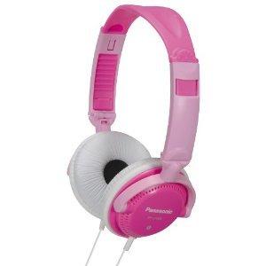 Panasonic 松下 便携头戴式耳机 RP-DJS200(粉色)