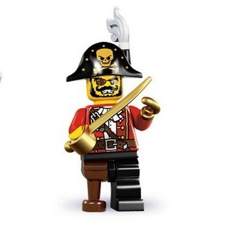 回至 正品 乐高lego小人仔系列8 minifigures l8833 单只装 人物随机