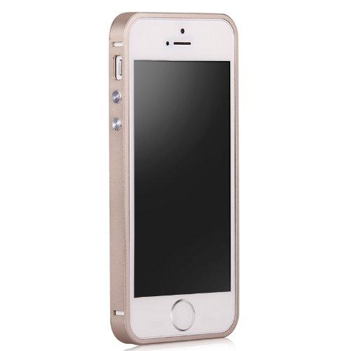 商品ivr 卫尔 iphone 5/5s/se 手机金属边框保护套 土豪金