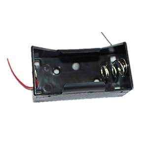 1号电池盒 初中电学实验器材 (带2根导线)
