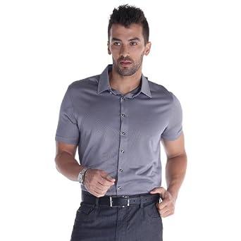 奥肯 特惠卖价蚕丝混纺斜纹品牌T恤商务休闲男短袖怎么样,好不好