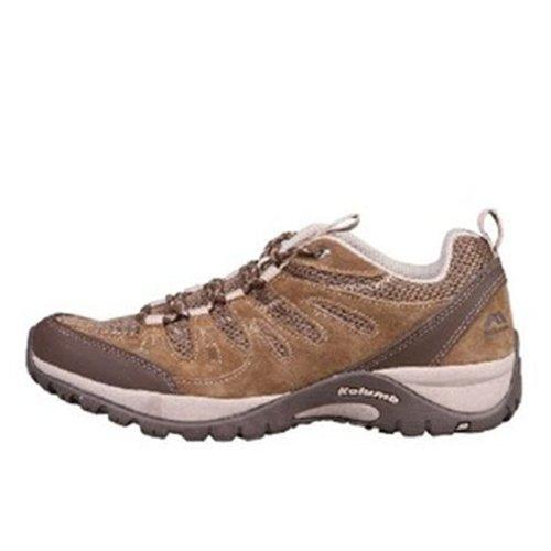 Kolumb 哥仑步 男子户外低帮透气防滑徒步鞋 304982 棕色