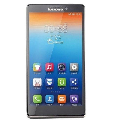 Lenovo 联想 VIBE Z K910e CDMA2000/GSM 3G手机(铂雅银 电信定制)双模双待 5.5英寸1080P视网膜屏 骁龙800四核2.2G 500W+1300W高清摄像头 7.9mm超薄机身-图片