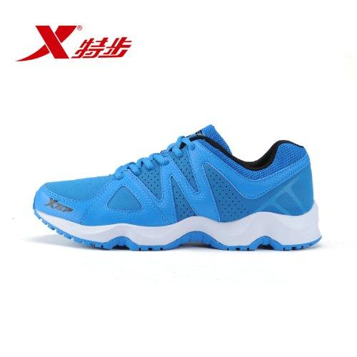 XTEP 特步 男鞋休闲运动鞋时尚蛇形鞋底跑步鞋
