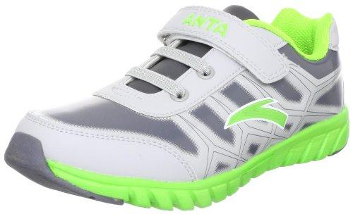 ANTA 安踏 跑步系列 男童 跑步鞋 浅灰绿/白色 36 31245526-1