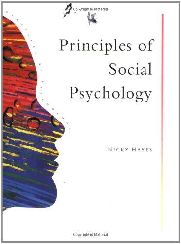 ciples Social Psychology