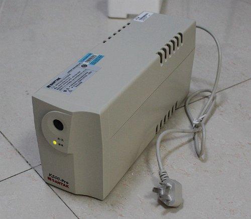 山特k500-pro 500va/300w ups不间断电源 超静音 一般办公电脑20分钟