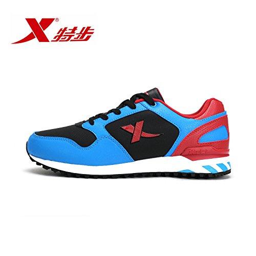 XTEP 特步 时尚休闲百搭舒适耐磨男跑鞋鞋运动鞋轻便跑步鞋