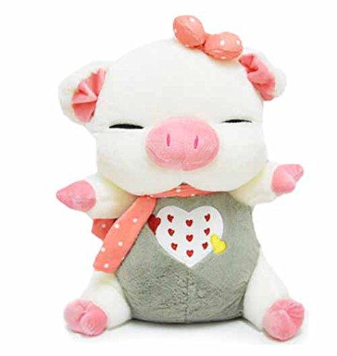 茵凡礼品幸运猫公仔创意毛绒玩具可爱娃娃玩偶 婴儿款 公仔32cm眯眼