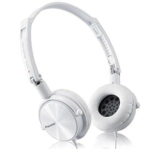 Pioneer 先锋 SE-MJ511S-W 便携折叠立体声耳机 白色 89元包邮
