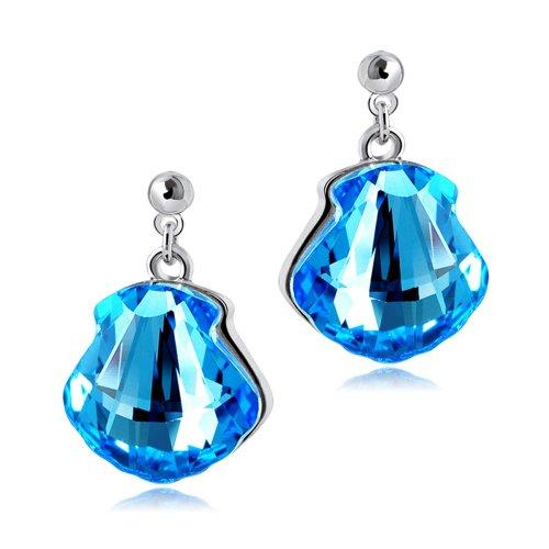 施华洛世奇元素水晶原创设计漂流瓶系列之许愿瓶 海蓝