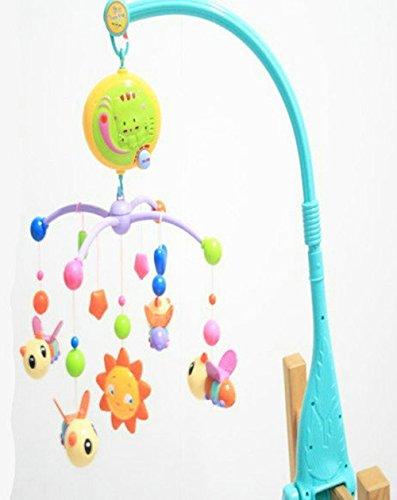 亨力 正品 电动音乐旋转睡床铃 蜜蜂床铃婴儿玩具-图片