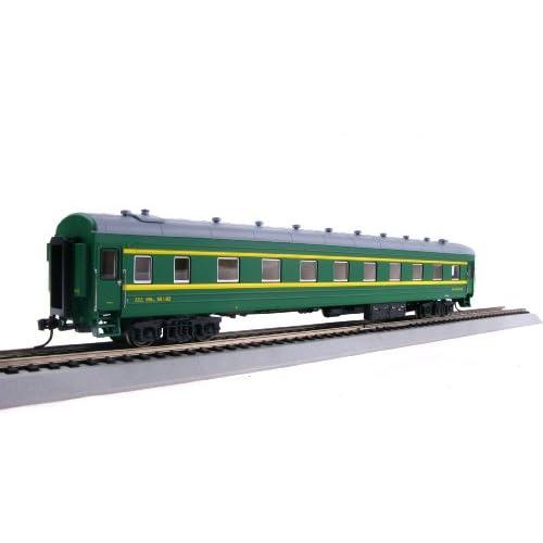 百万城 仿真火车模型 CP01305 22型软卧车厢 上局沪段 551103图片