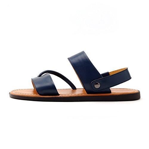 GERTOP 德意志山峰 夏季 真皮透气沙滩鞋男士凉鞋 S4338011