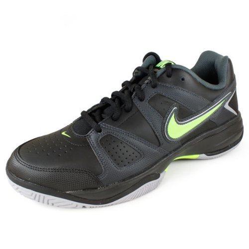 Nike 耐克 网球系列 CITY COURT VII 男 网球鞋 488141-004 黑/电子绿/煤黑 41 (US 8)