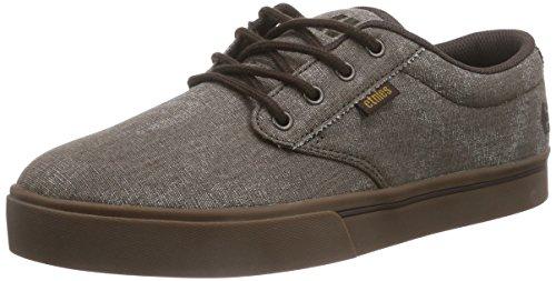 Etnies Men's Jameson 2 Eco Athletic Shoe, Brown/Gum/Brown, 8.5 M US