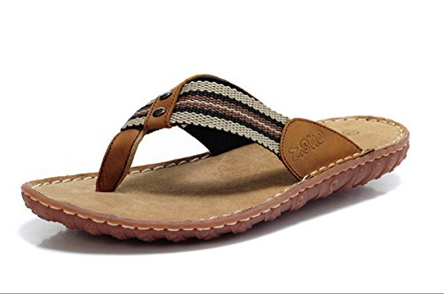 Z.SUO走索 夏季韩版 拖鞋 凉鞋 网鞋 帆布鞋ZS0188黄色
