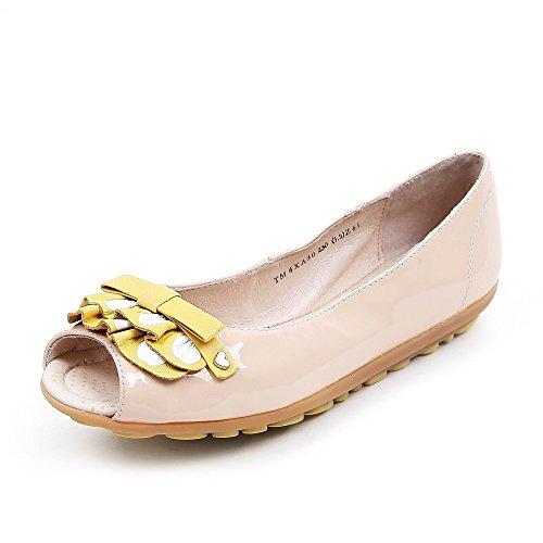 Teenmix 天美意 天美意春季专柜同款牛皮女皮凉鞋专柜 6XA30AU5