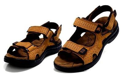 CAMEL 骆驼 新款头层牛皮 型男大爱超酷品质 透气凉鞋 男鞋 盛夏必备沙滩鞋