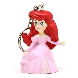 甜蜜城堡 公主钥匙链 经典可爱公主公仔挂件 (粉裙子美人鱼公主)