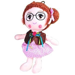 好幼礼 红泡泡绿果果小小公主 毛绒玩具玩偶 毛绒布娃娃女生可爱生日