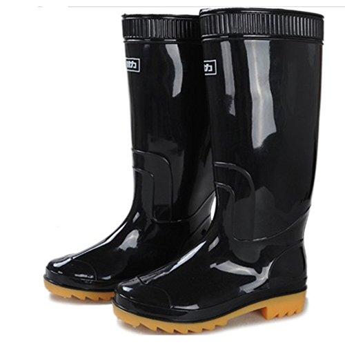 回力 雨鞋 男款 牛筋套鞋 插秧鞋水鞋防雨防水工作雨靴 中筒高筒807