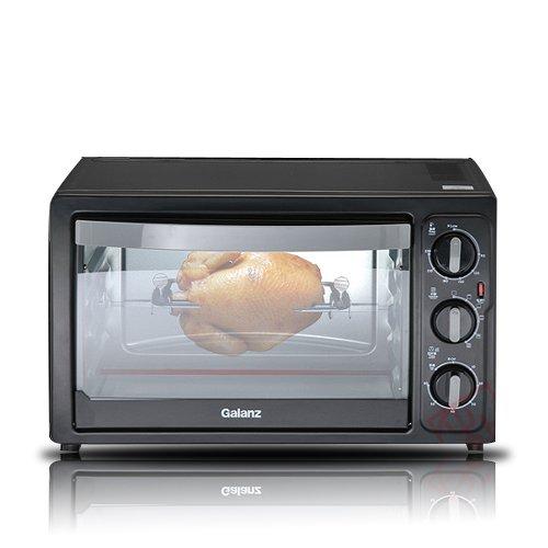 Galanz/格兰仕电烤箱KWS1530X-H7R (30L上下独立加热,家用旋转电烤箱,多层烤位,360°旋转,低温发酵,环保不沾油内胆)-图片
