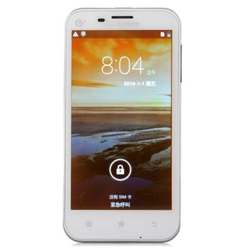 Lenovo 联想 A678T(白色)TD-SCDMA/GSM 双卡双待 5.0英寸屏,四核处理器-图片