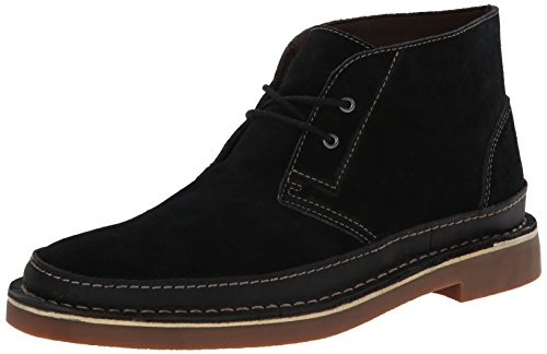 Clarks Men's Bushacre Rand Chukka Boot, Black, 12 M US