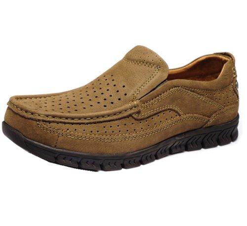 Camel骆驼牌 时尚户外商务款 工装风潮 运动休闲鞋 优质牛皮 柔软鞋面 舒适美观 商务男鞋
