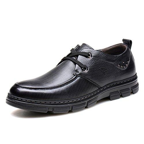 德国骆驼动感男鞋2015秋季新款单鞋真皮商务休闲皮鞋子男士日常休闲鞋92055