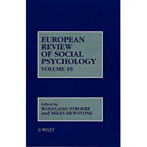 european review of social psychology vol.10
