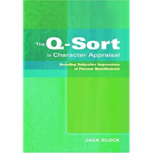 The Q-Sort in Character Appraisal