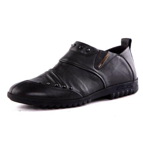 Tony Johnson/托尼琼斯 秋季新品头层牛皮新绅士风尚套脚男鞋 Q7563245