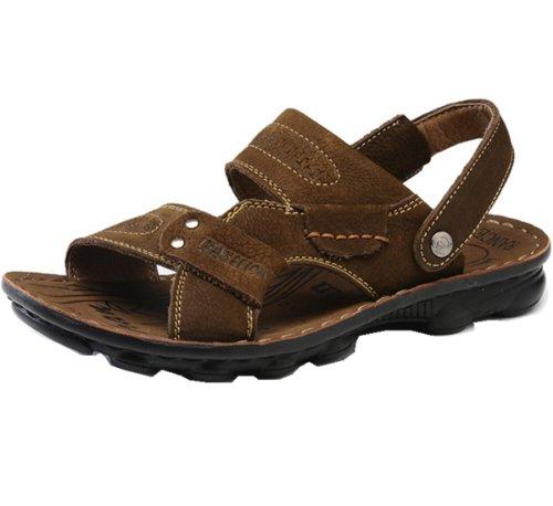 Camel 骆驼牌 休闲凉鞋款 精美舒适 简约休闲 意式车缝 涉溪凉鞋 面皮柔软 户外凉鞋 男鞋