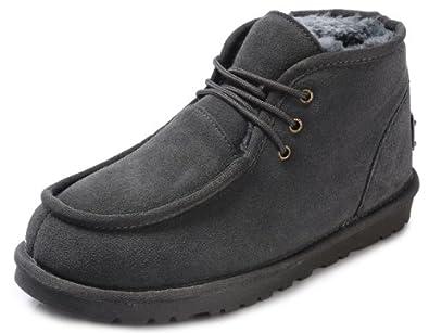 IVG 冬款男士雪地靴子 这个冬天不太冷 加厚保暖和男靴子 牛筋底时尚款